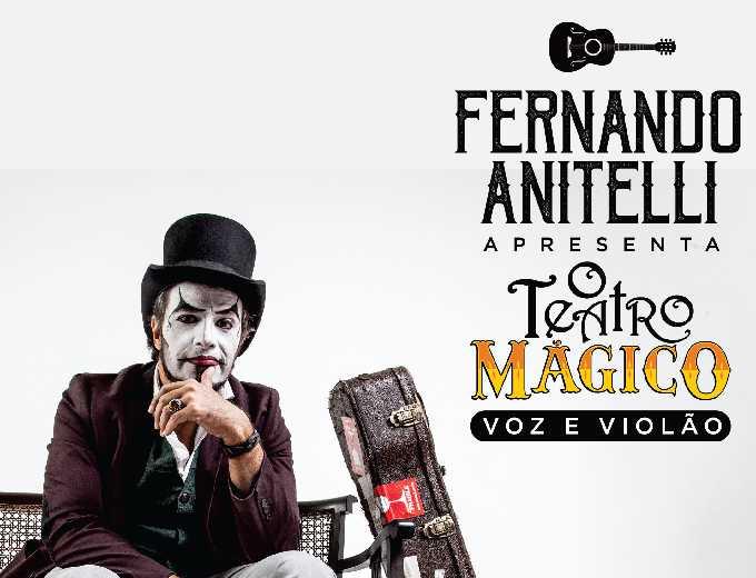 Fernando Anitelli apresenta O Teatro Mágico Voz e Violão