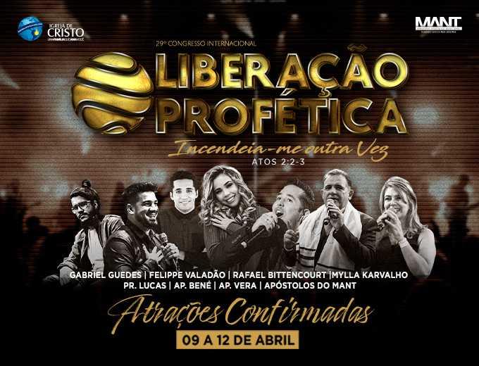 29º Congresso internacional Liberação Profética