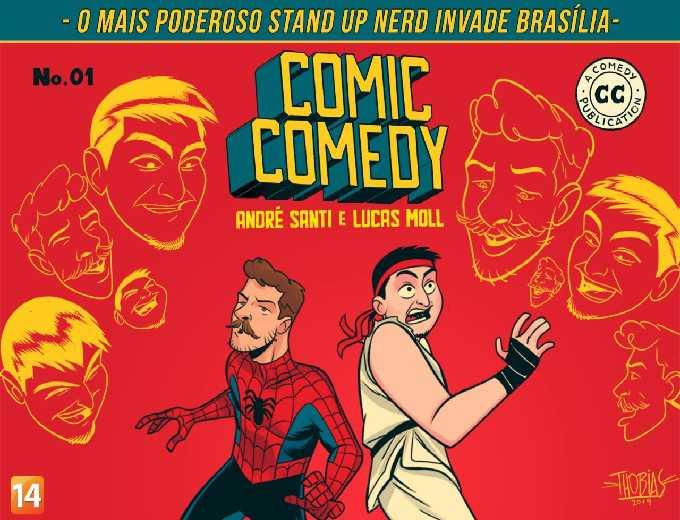 Comic Comedy com André Santi e Lucas Moll