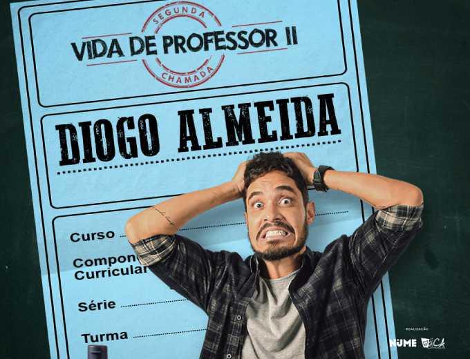 Diogo Almeida apresenta novo show Segunda Chamada